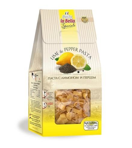 Pasta la Bella Speciale Паста с Лимоном и Перцем