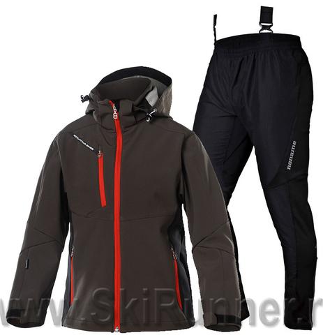 Лыжный костюм детский 8848 Altitude Apex Brown Active 15