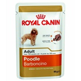 Royal Canin Adult Poodle Консервы для собак породы пудель от 10 месяцев, (паштет) 1 х 85 г. пауч (144012)