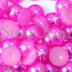 Купите полубусины Fuchsia ярко-розовые в интернет-магазине StrazOK.ru