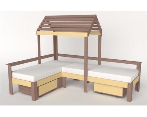 Кровать-домик АВАРА-5