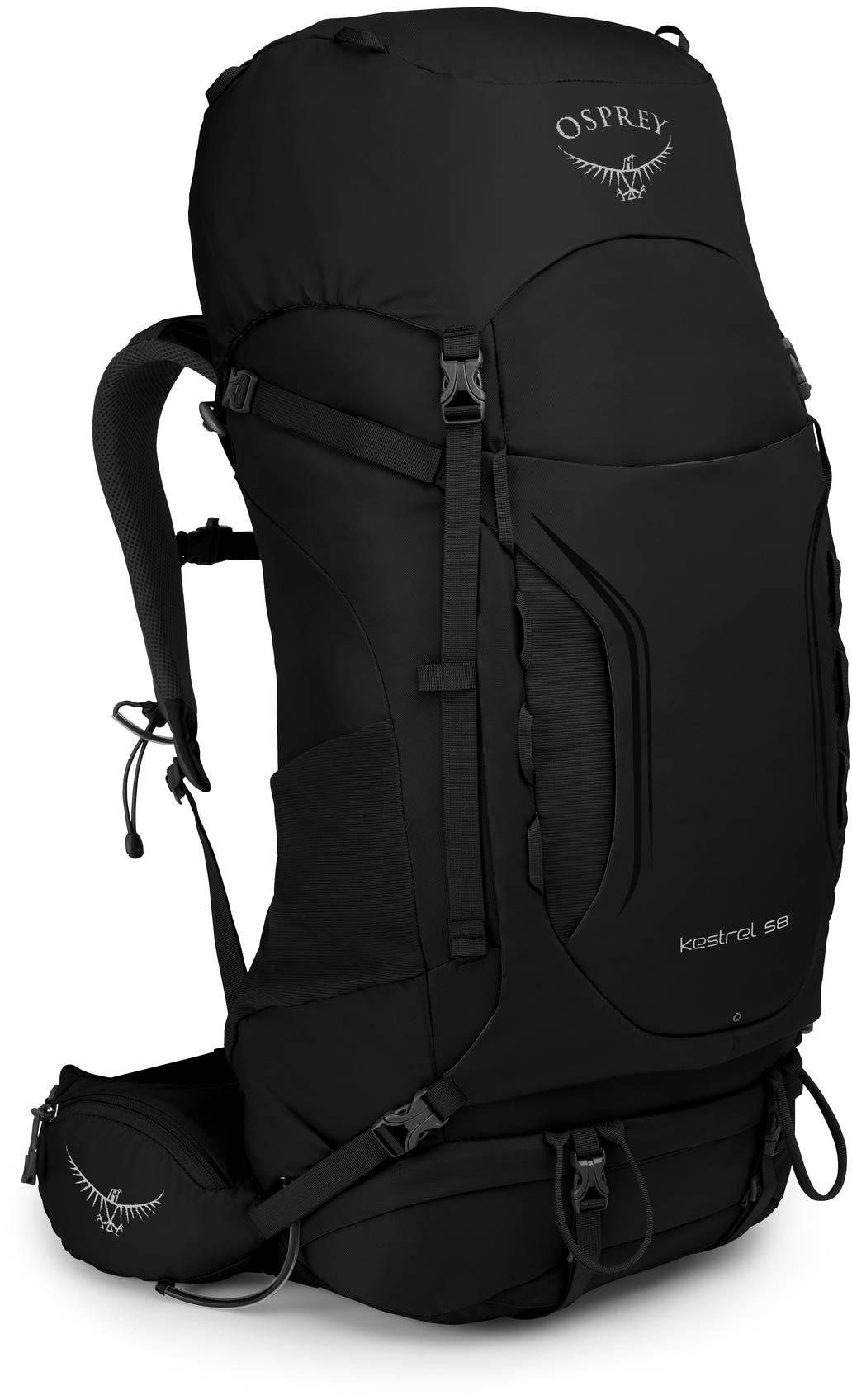 Kestrel Рюкзак туристический Osprey Kestrel 68 Black Kestrel_58_S19_Side_Black_web.jpg
