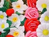 Композиция из надувных цветов
