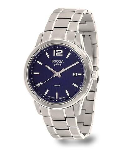 Купить Мужские наручные часы Boccia Titanium 3581-02 по доступной цене