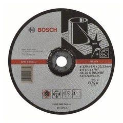 Зачистной круг 230х6х22,23 мм по нержавеющей стали Bosch Expert for Inox