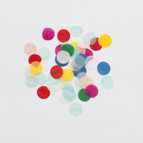 Конфетти, разноцветный