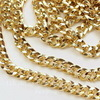 Цепь (цвет - золото) 8х7 мм, примерно 5 м