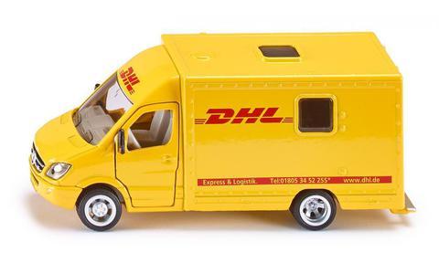 Siku. Игрушечная модель микроавтобус почтовой службы DHL. 1:50