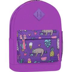 Рюкзак Bagland Молодежный W/R 17 л. 339 Фиолетовый 770 (00533662)