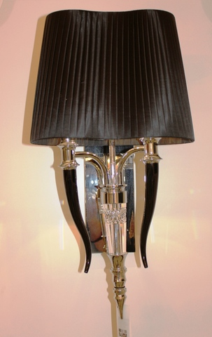 wall lamp  Visionnaire Esmeralda Chandelier- Ipe cavalli ( black + silver  )