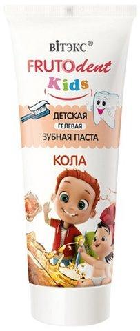 Витекс FRUTOdent Kids Детская гелевая зубная паста КОЛА 65