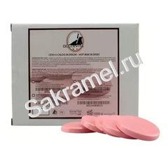 Воск Dolche Vita горячий розовый 1 кг