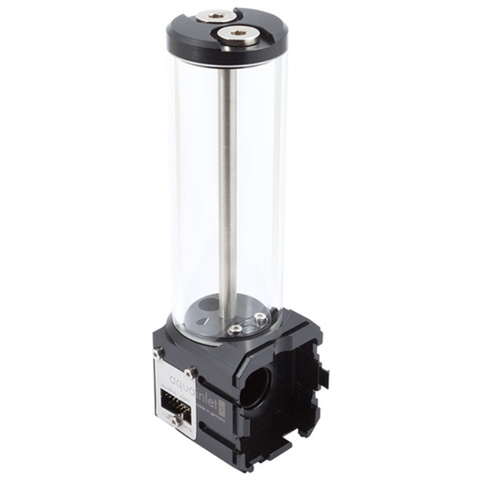Aqua-Computer aquainlet XT 150 ml with fill level sensor and LED holder, G1/4