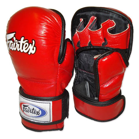 Перчатки MMA Fairtex Sparring Gloves FGV15 Red