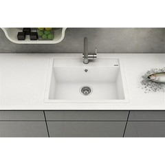 Мойка кухонная Blanco Dalago 5 Silgranit Белый