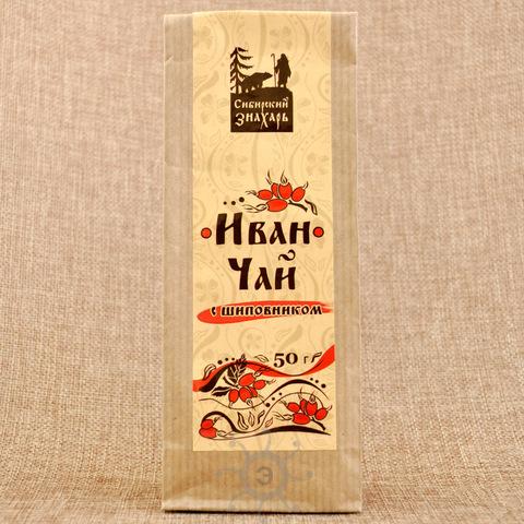 Иван-чай с шиповником Сибирский Знахарь, 50г