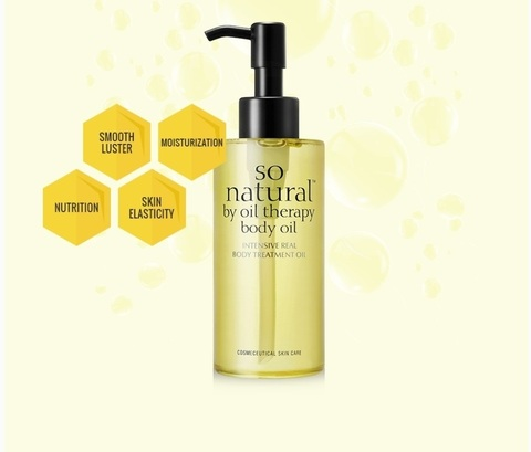 Увлажняющее масло для тела, 140 мл / So Natural Body Oil
