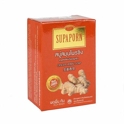 Натуральное мыло с имбирем SUPAPORN, 100 гр.