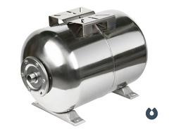 Гидроаккумулятор 100л, (гор.), нерж. сталь, мембрана EPDM