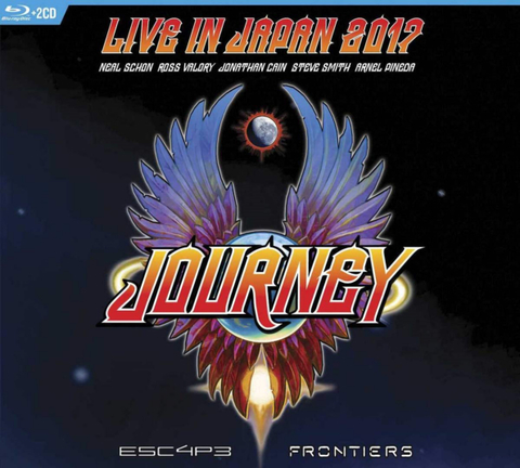 Journey / Escape & Frontiers - Live In Japan 2017 (2CD+Blu-ray)