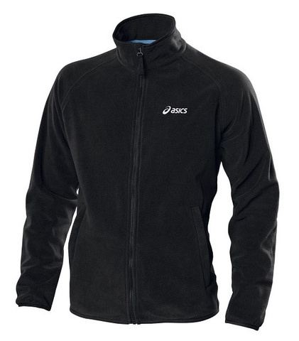 Флисовая толстовка Asics Polar Fleece Jacket мужская черная