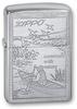 зажигалка zippo 200 since 1932 200 Row Boat Зажигалка ZIPPO Row Boat Brushed Chrome, латунь с никеле-хромовым покрытием, серебристы
