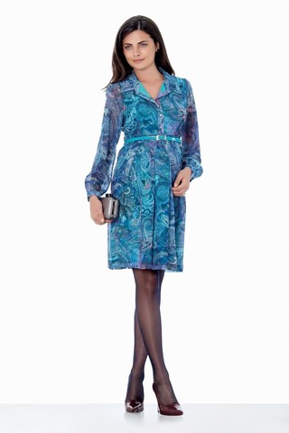Платье 05590 бирюзовый