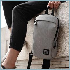Рюкзак однолямочный повседневный КАКА 99010 серый