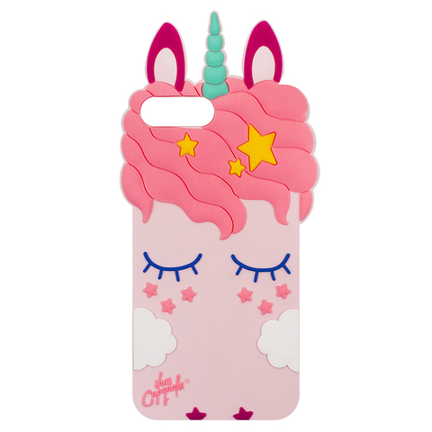 Чехол для IPhone 6/7/8 Plus Unicorn Pink