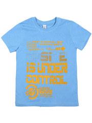 Узт-ФМ105-5 футболка детская, голубая