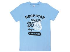 18059-11 футболка для мальчиков, голубая
