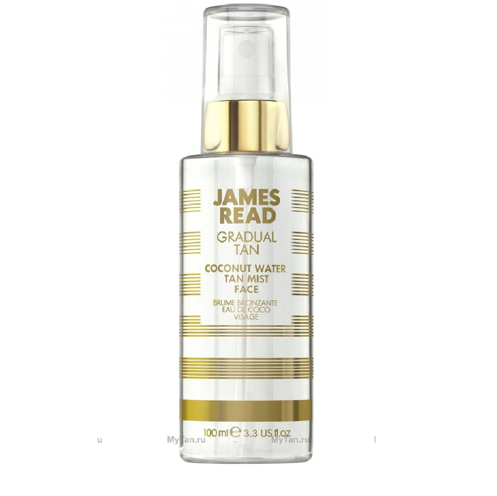 Автозагар James read gradual tan coconut water tan mist face
