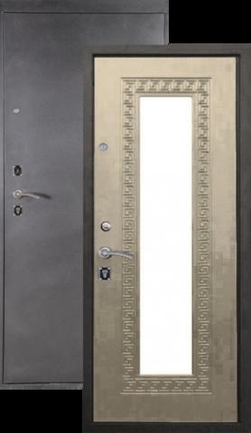Дверь входная Легион L-1, 2 замка, 1,5 мм  металл, (серебро антик+дуб седой)