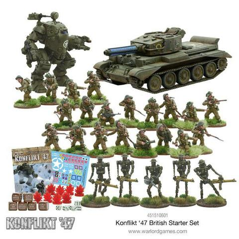 Konflikt '47 British Starter Set