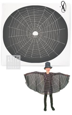 Фото Паук пончо ( комплект для пошива ) рисунок Хотите сшить жука своими руками? Мастерская Ангел предлагает наборы для самостоятельного пошива жуков и других насекомых!