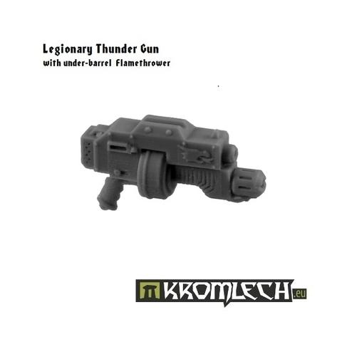 Legionary Thunder Gun with under-barrel Flamethrower (5)