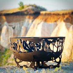 Чаша для костра FireCup Экзотическая природа