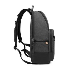 Рюкзак с карманами стильный для города КАКА 2239 чёрный
