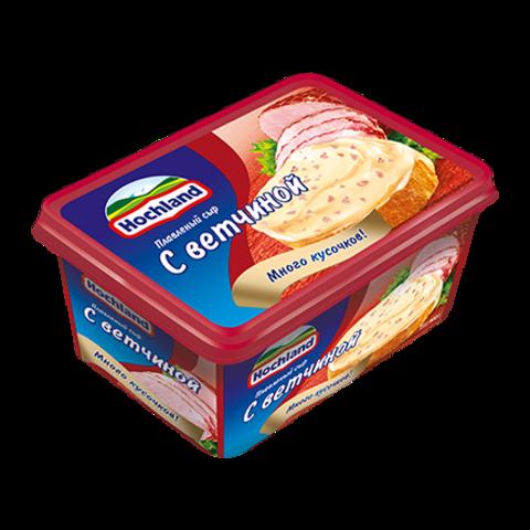 """Сыр плавленый """"Hochland"""" с ветчиной 400г"""
