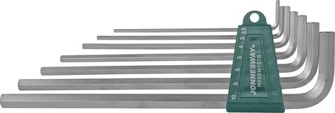 H03SM107S Комплект угловых шестиграников EXTRA LONG 2,5-10мм, 7 предметов S2 материал