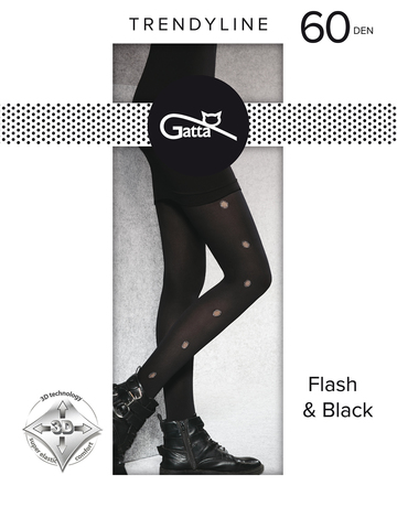Колготки Flash & Black 03 Gatta