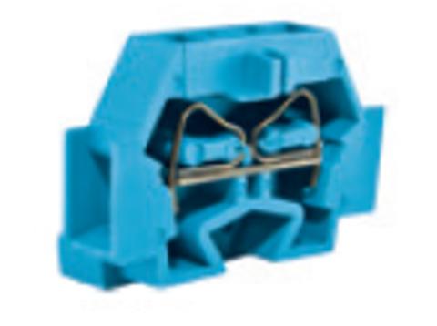 Микроклемма модульная МКМ 4мм2 синяя TDM