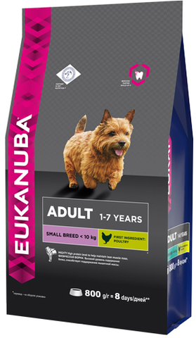 Сухой корм Eukanuba Adult Small Breed