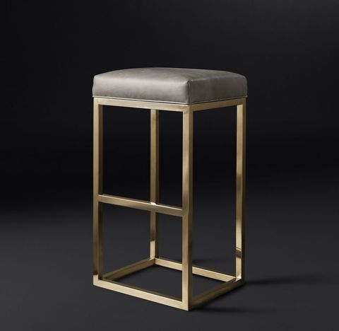 Reese Leather Stool