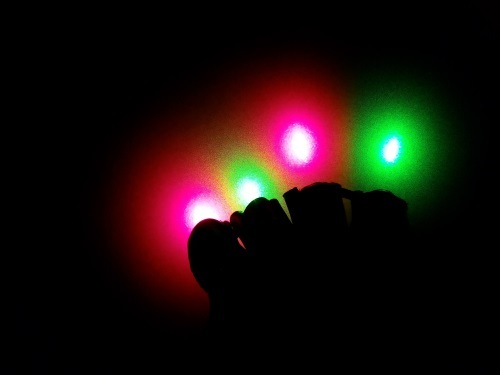Red-Green Laser Gloves, foto1