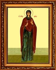 Ираида Александрийская мученица. Икона на холсте.