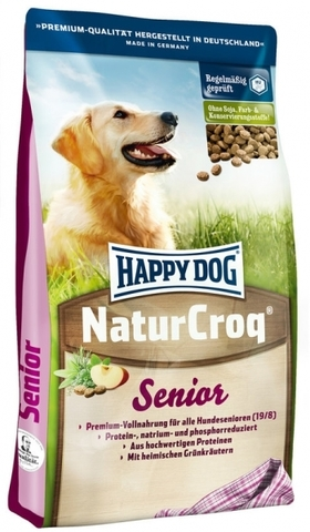 HAPPY DOG NATURCROQ SENIOR 15 кг