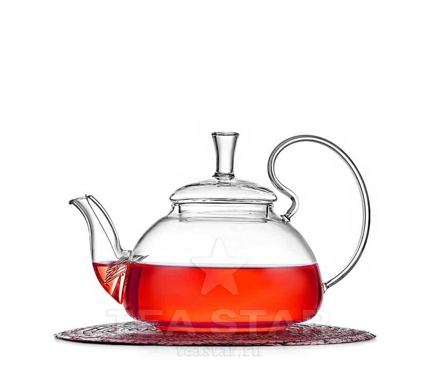 Чайники Георгин Чайник заварочный стеклянный, Георгин 650 мл chaynik_georgin_650ml.jpg