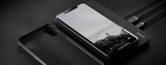 Чехол Nomad Rugged Leather Case для iPhone XS кожа черный
