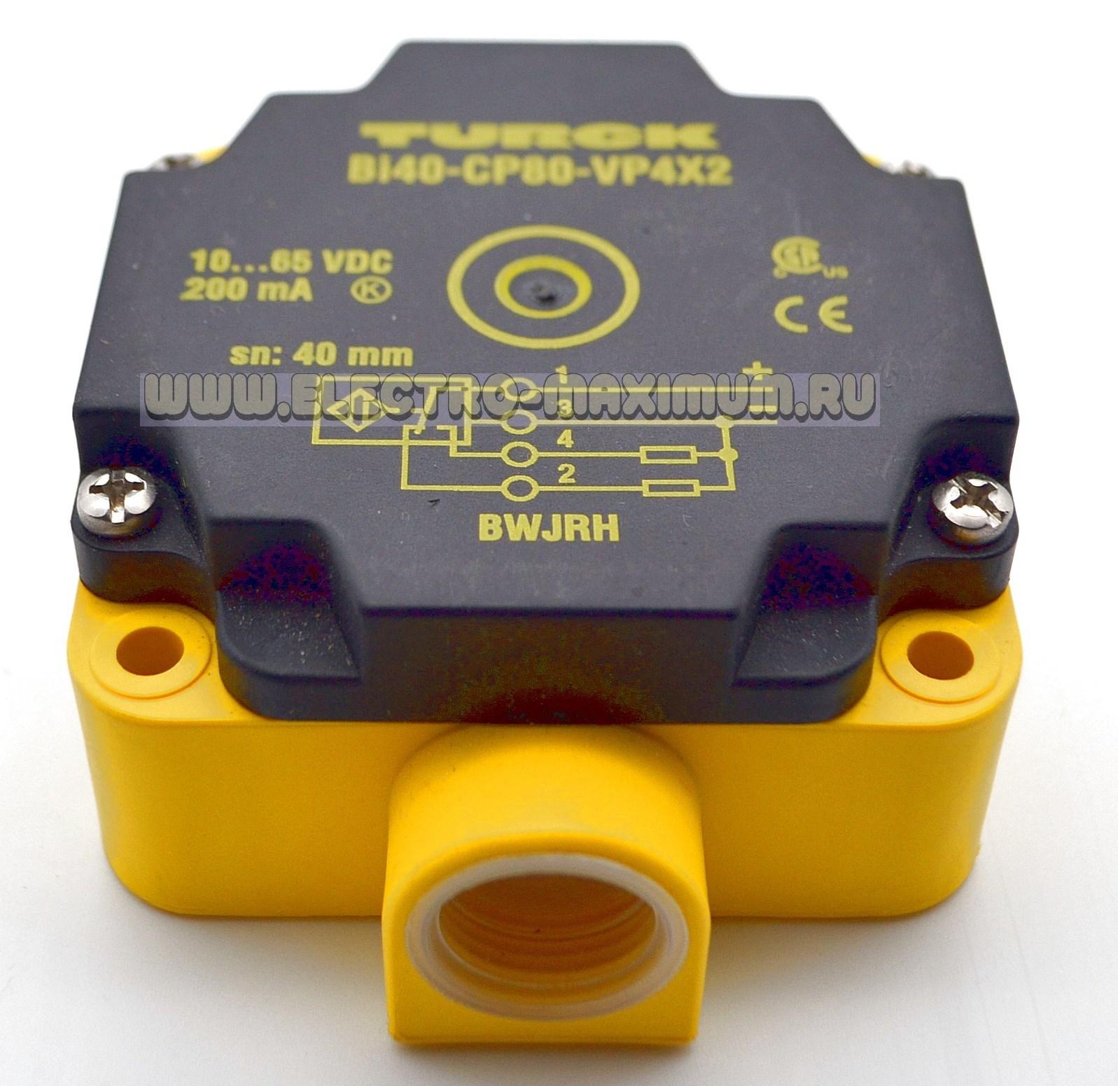 TURCK BI40-CP80-VP4X2